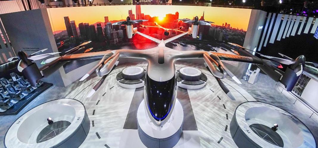 ridesharing aéreo