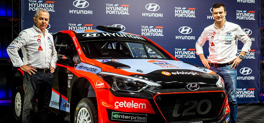 Team Hyundai Portugal 2020 - carro