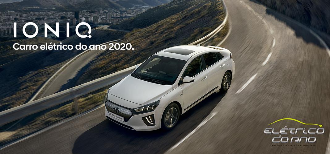 Hyundai IONIQ EV vence prémio