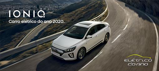 """Hyundai IONIQ EV conquista prémio """"Elétrico do Ano 2020"""""""