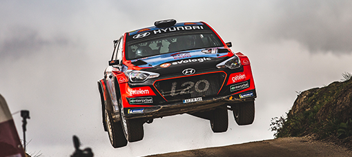 Team Hyundai Portugal consegue pódio com o segundo lugar no arranque do Campeonato de Portugal de Ralis