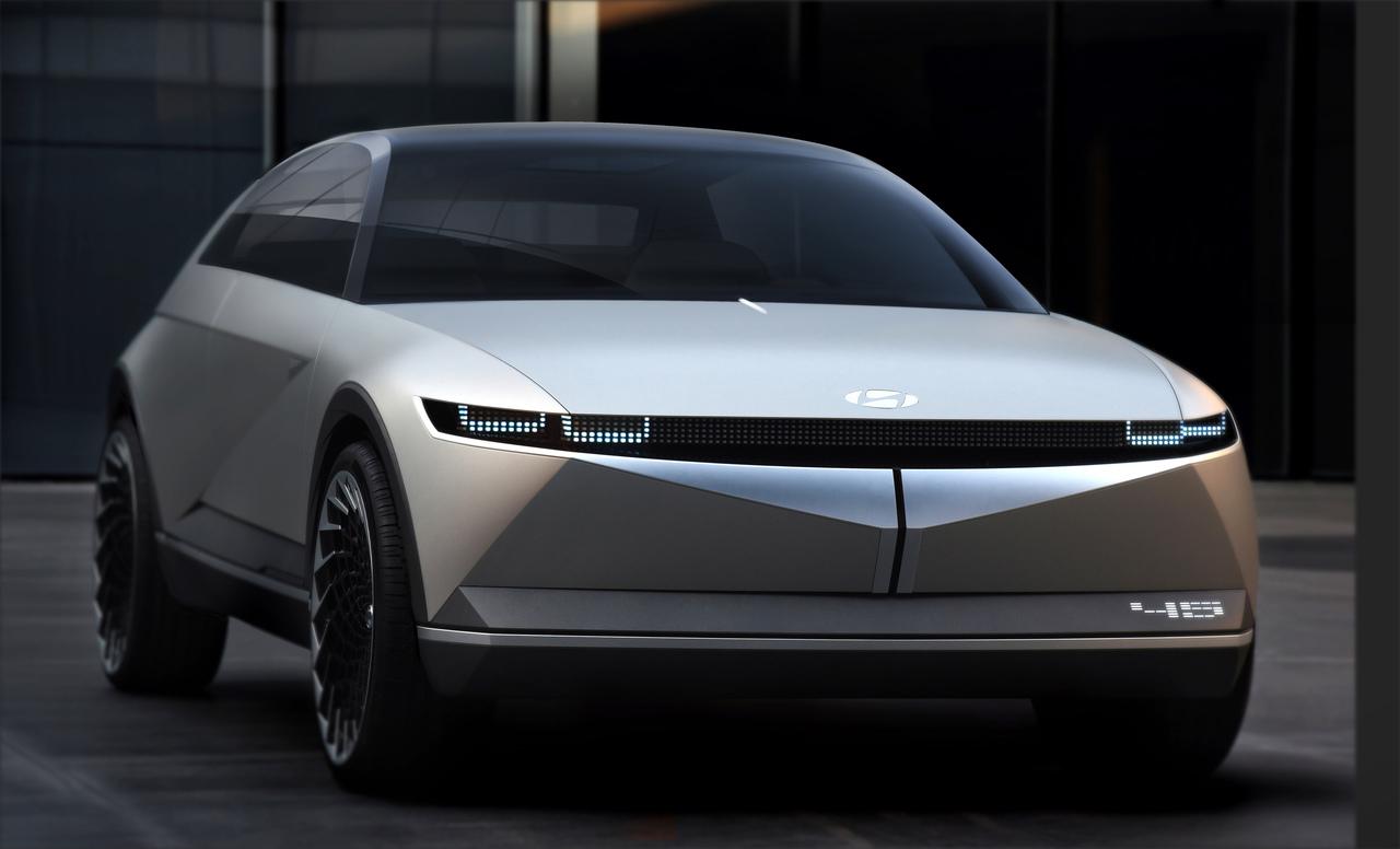 Hyundai revela detalhes sobre o novo Concept 45