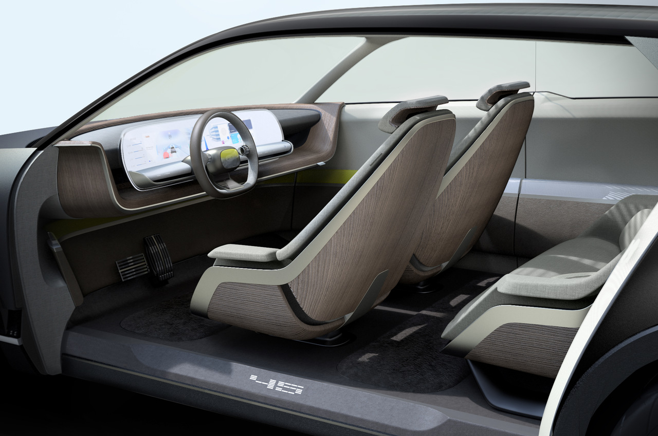 Interior do Hyundai concept 45