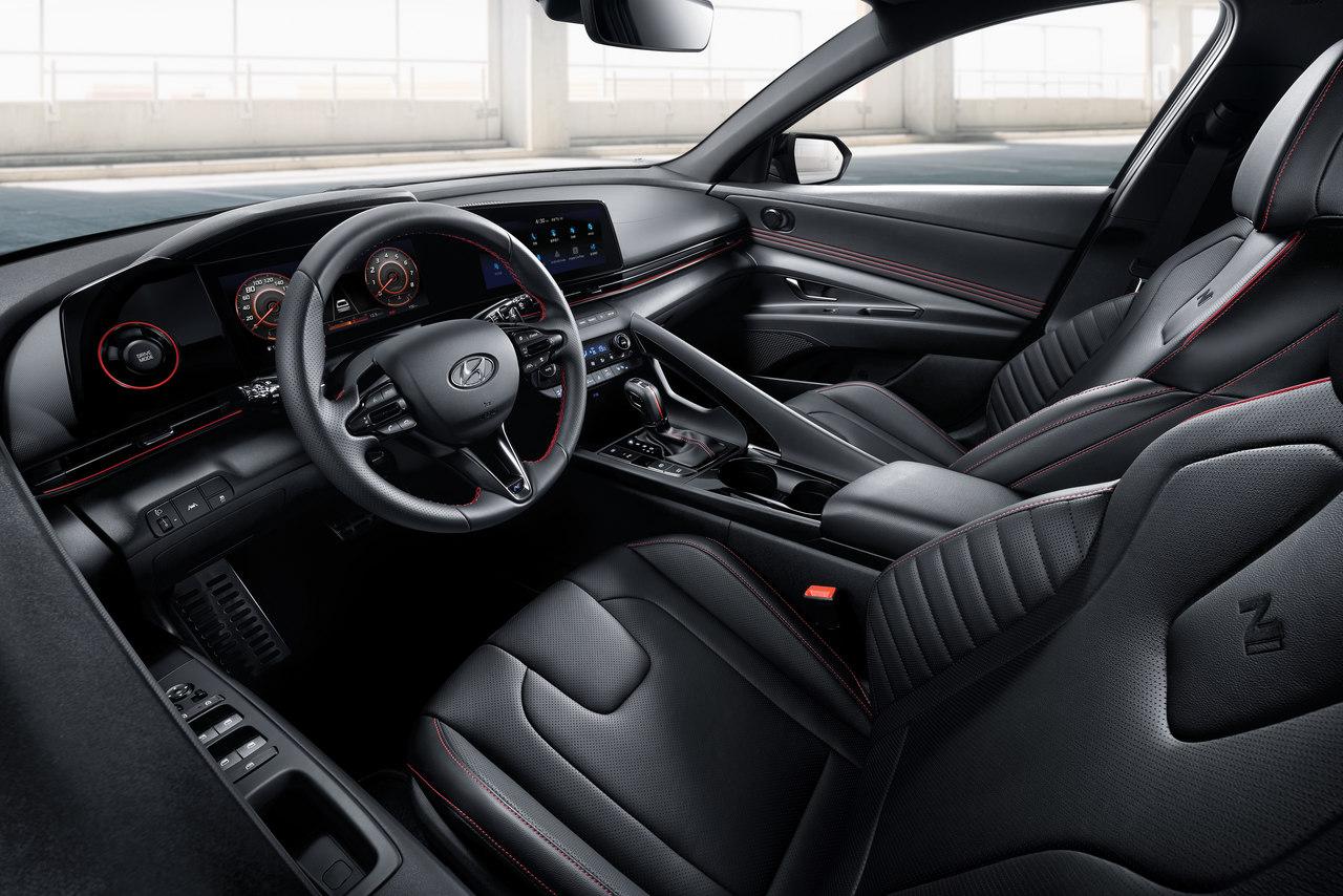 Interior do novo Hyundai Elantra N-Line
