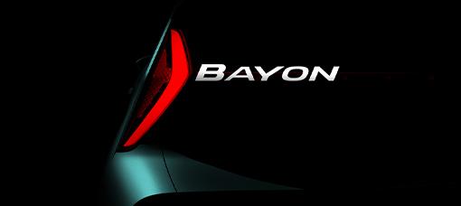 Hyundai Motor anuncia o nome do Novo SUV: Hyundai Bayon