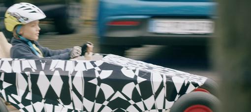 Hyundai Soapbox racer avistado em fase de testes