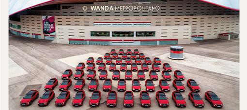 O Novo Hyundai Tucson chegou ao estádio do Atlético de Madrid