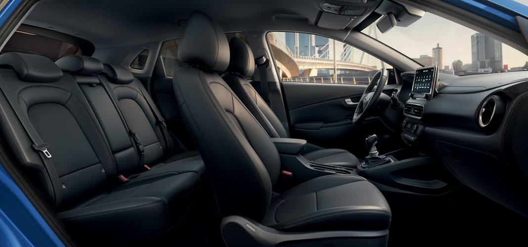 Interior Novo Hyundai KAUAI
