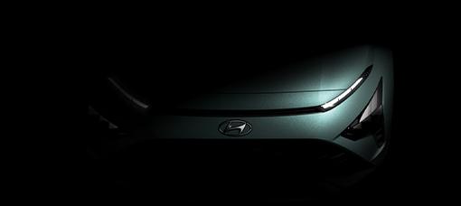 Hyundai Motor revela o design diferenciador do seu novo SUV crossover Hyundai Bayon