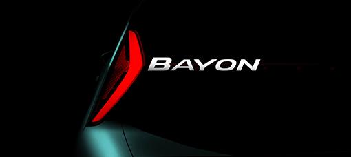Novo Hyundai BAYON é apresentado amanhã a nível mundial