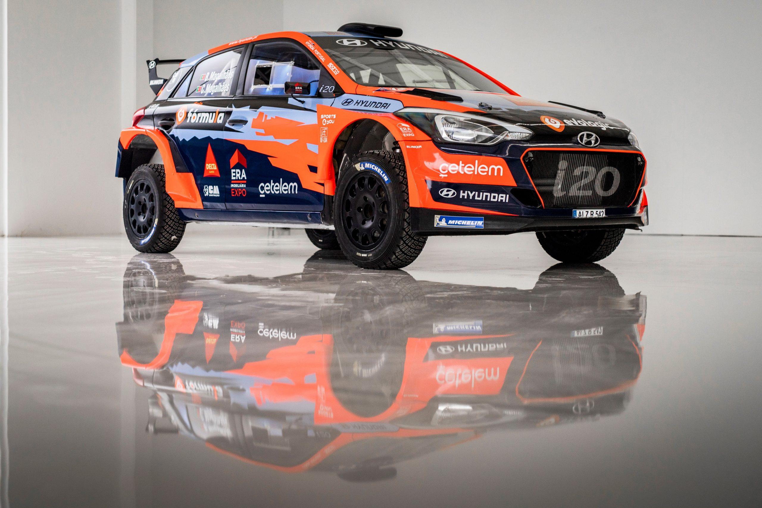 Team Hyundai Portugal inova no arranque do Campeonato de Portugal de Ralis em 2021