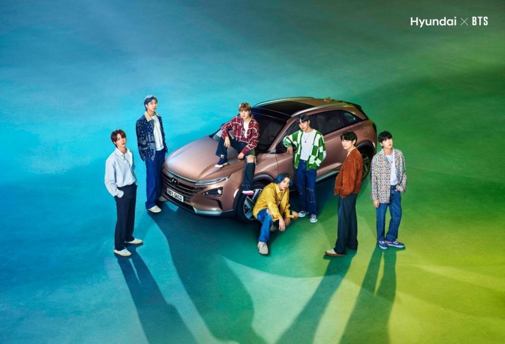 Hyundai Motor e BTS celebram o Dia da Terra com promoção do Hidrogénio